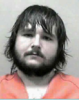 This image provided by West Virginia State police shows an undated booking photo of James Roy Belknap. West Virginia State Police said late Saturday May 26, 2012 they had found four bodies in a wooded area and believe they are those of a missing man, his girlfriend and his two young children. West Virginia State Police have identified James Roy Belknap as a suspect.  Mr. Belknap's whereabouts are unknown.  He may be operating a white Ford F-150, or a Chevrolet Monte Carlo (color unknown).  If located please contact the West Virginia State Police. (AP Photo/West Virginia State Police)
