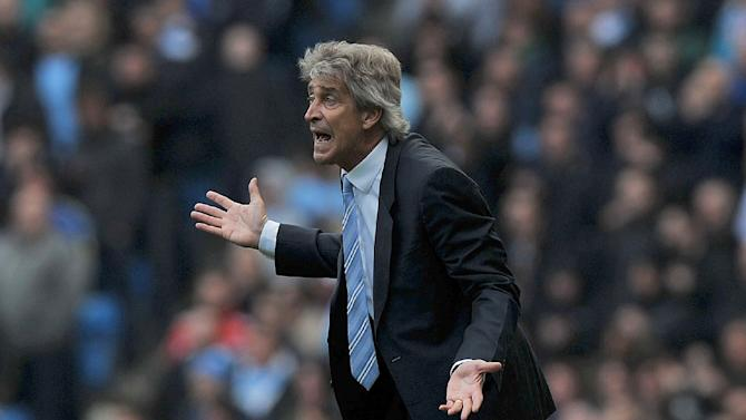 Manuel Pellegrini insists Manchester City are still heading in the right direction under his leadership despite surrendering the Premier League title without a fight