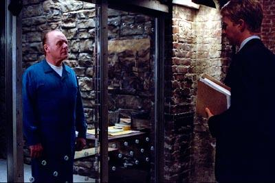 Anthony Hopkins and Edward Norton in Universal's Red Dragon