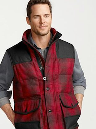 The Manly Man's Winter Vest