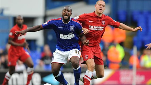 Nathan Ellington, left, was released by Ipswich in January