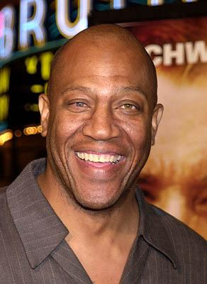 "Tom ""Tiny"" Lister Jr. at the Westwood premiere of Collateral Damage"