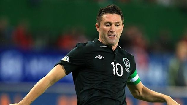 Robbie Keane missed Friday night's 3-0 defeat by Germany with an ankle injury