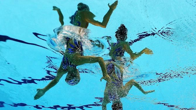 Olympics Day 11 - Synchronised Swimming