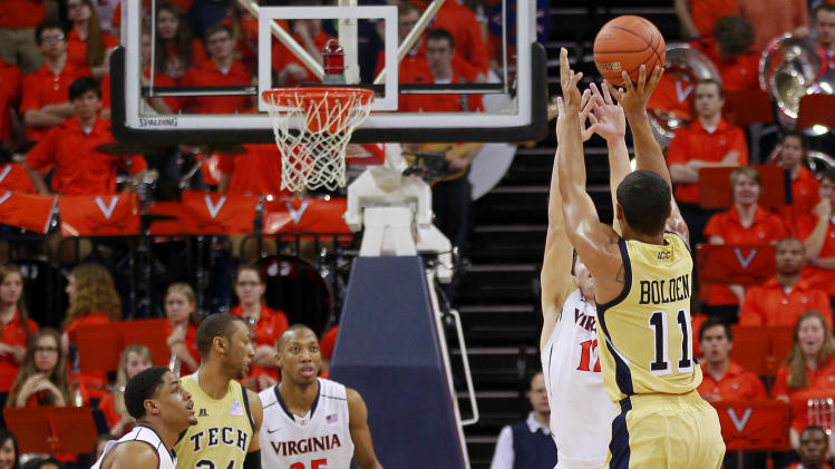 NCAA Basketball: Georgia Tech vs Virginia