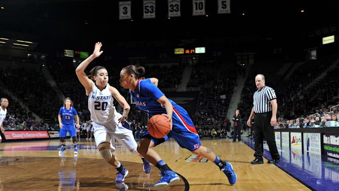 NCAA Womens Basketball: Kansas at Kansas State