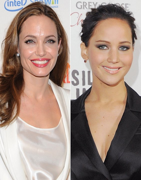 Jennifer Lawrence, Angelina Jolie
