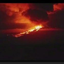 Galapagos' Highest Volcano Erupts For First Time In More Than 30 Years