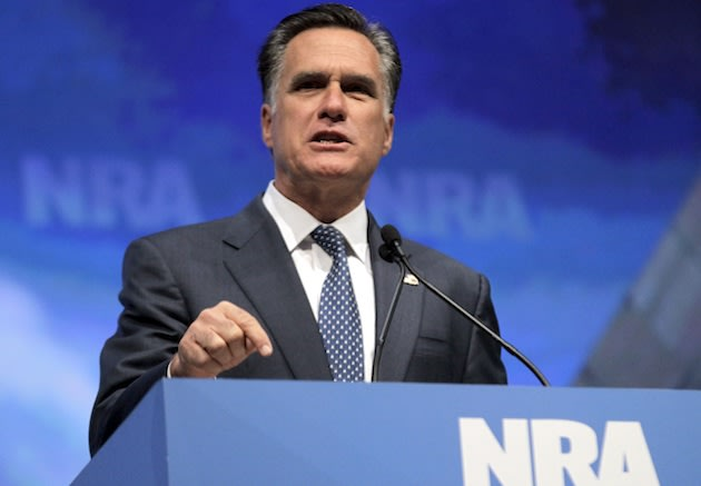 Romney at NRA