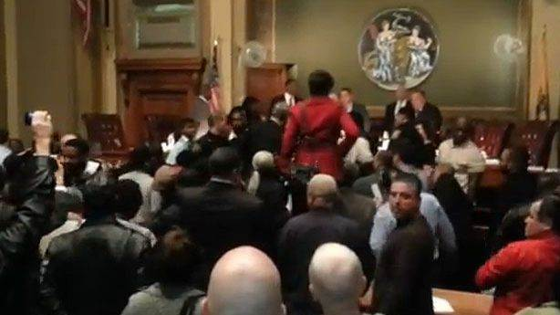 Anti-Cory Booker Mayhem Turns City Council Meeting into Near-Riot