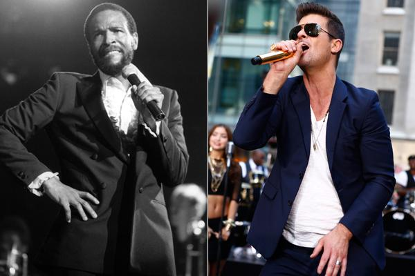 Robin Thicke, You're No Marvin Gaye