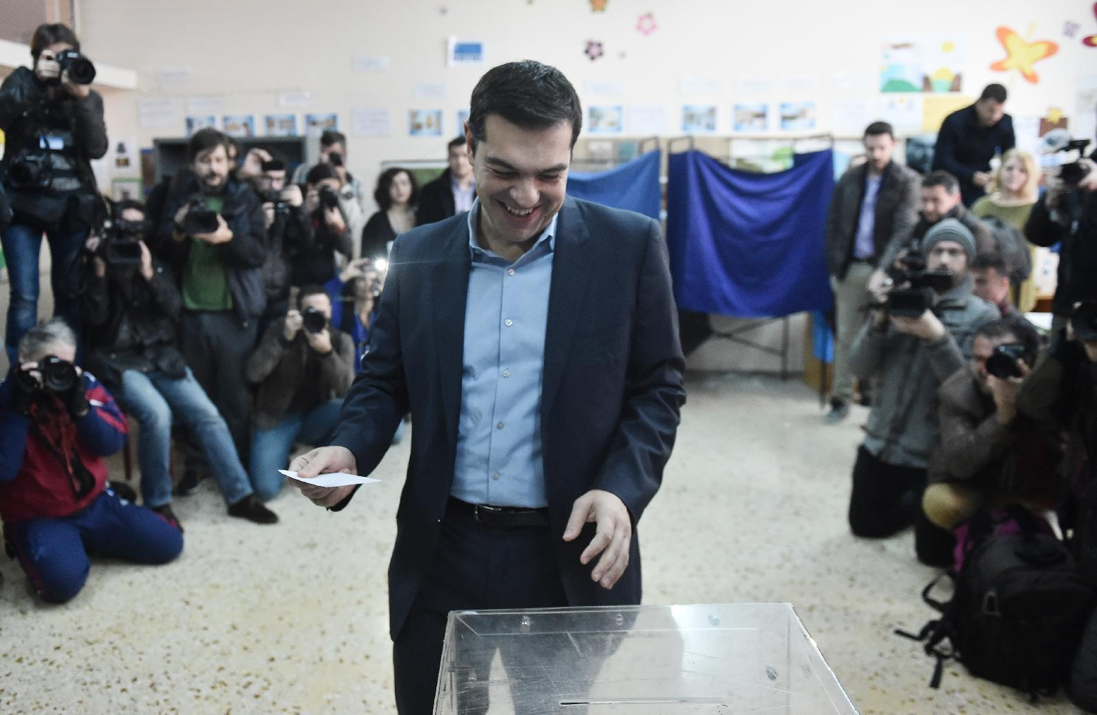 Anti-austerity Syriza poised for Greek election victory
