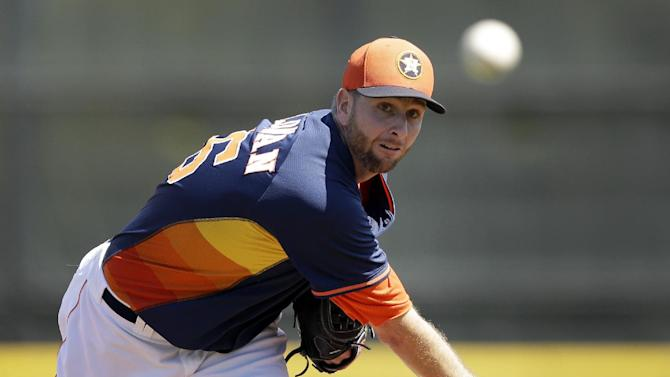 Feldman to start Astros' opener against Yankees