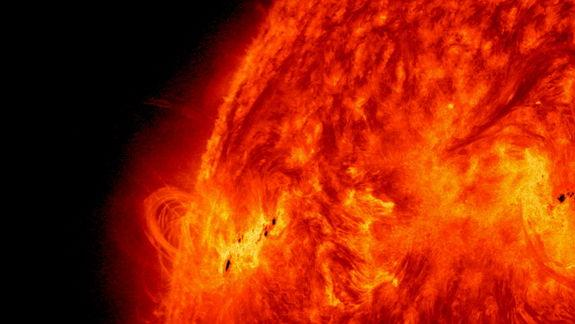 Fallout from Huge Solar Flare Sideswipes Earth Today