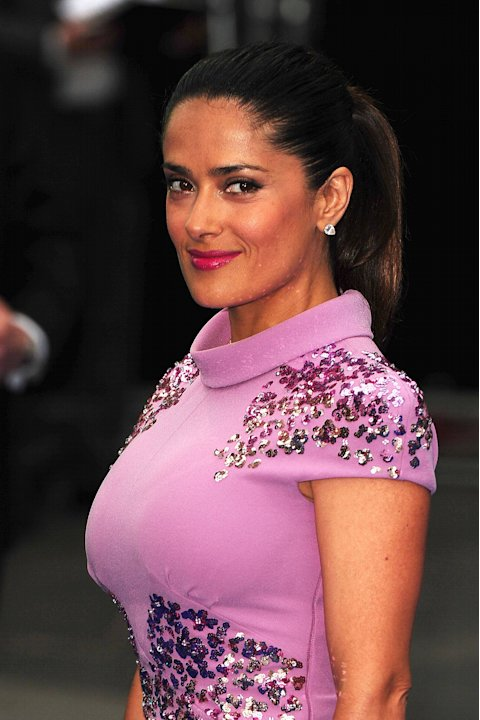 Salma Hayek at the 'Prometheus' UK film premiere held at the Empire Leicester Square - Arrivals.London, England - 31.05.12   Mandatory Credit: Zibi/WENN.com