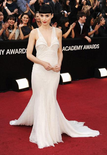 The girl with the fearsome frock (Rooney Mara and Riccardo Tisci)