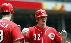 Reds outslug Rockies on record day for HRs