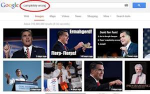 Mitt Romney Google Bombed Himself