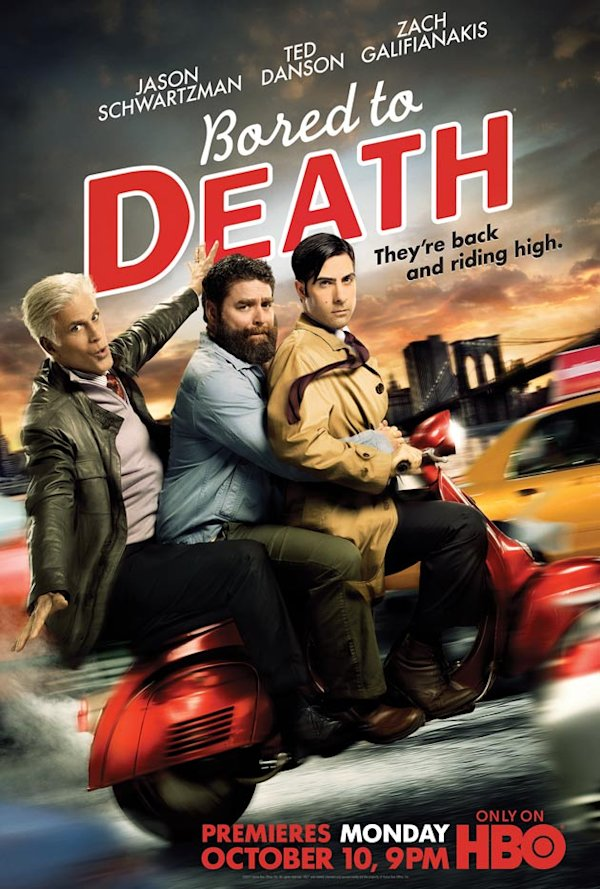 Bored to Death Season 3 poster
