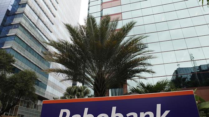 A view shows the Rabobank headquarters in Jakarta