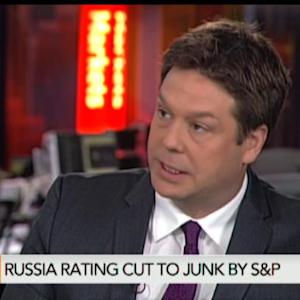 Russia's Credit Rating Cut to Junk by S&P