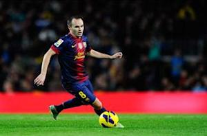 Iniesta excited by 'thrilling' Bayern Munich tie