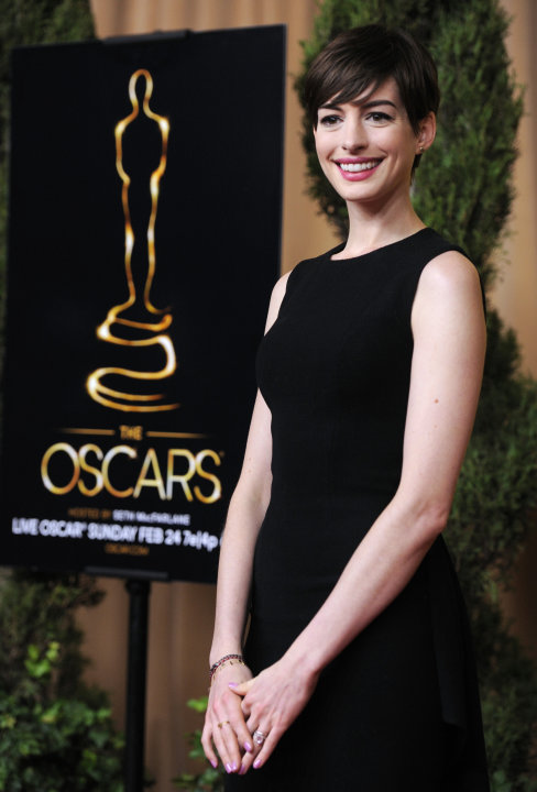 Anne Hathaway, nominated for …