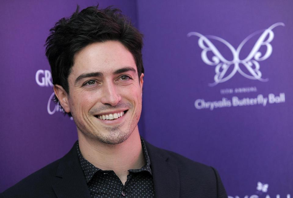 "FILE - In this June 9, 2012 file photo, actor Ben Feldman poses at the 11th Annual Chrysalis Butterfly Ball in Los Angeles. Feldman is nominated for a 2012 Emmy Award for his guest-starring role on ""Mad Men."" (Photo by Chris Pizzello/Invision/AP, File)"