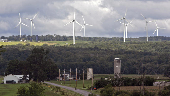 NY moves toward adopting wind, other green energy