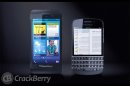 RIM's upcoming BlackBerry 10 phone with a physical keyboard leaks for the first time