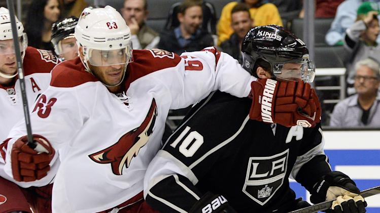 NHL: Phoenix Coyotes at Los Angeles Kings