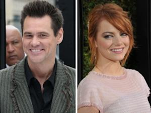 Jim Carrey / Emma Stone -- Getty Images
