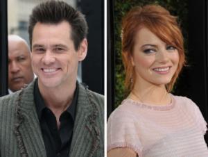 Jim Carrey / Emma Stone -- Getty Images