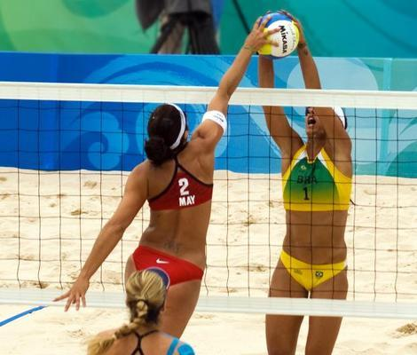 Both U.S. Teams On Pace to Meet in Women's Olympic Beach Volleyball Finals