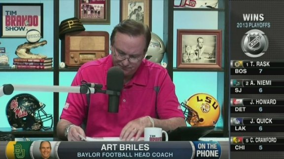 Art Briles talks Baylor f …