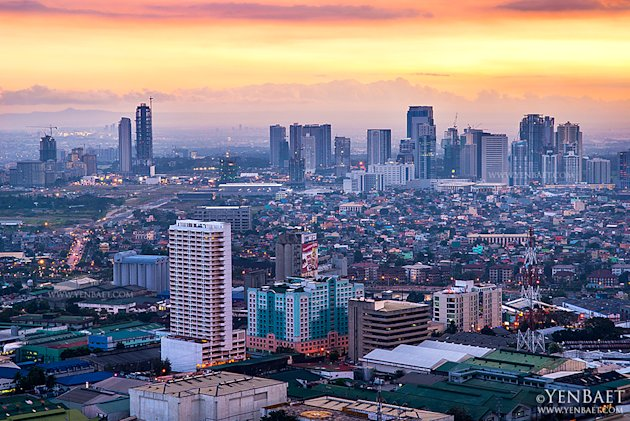 philippines-manila-skyscraper-7--modified-2--jpg_064754 - Manila at twilight - Philippine Photo Gallery