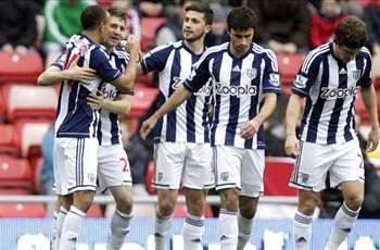 Sunderland 2-4 West Brom: Buoyant Baggies up to third with fourth straight win