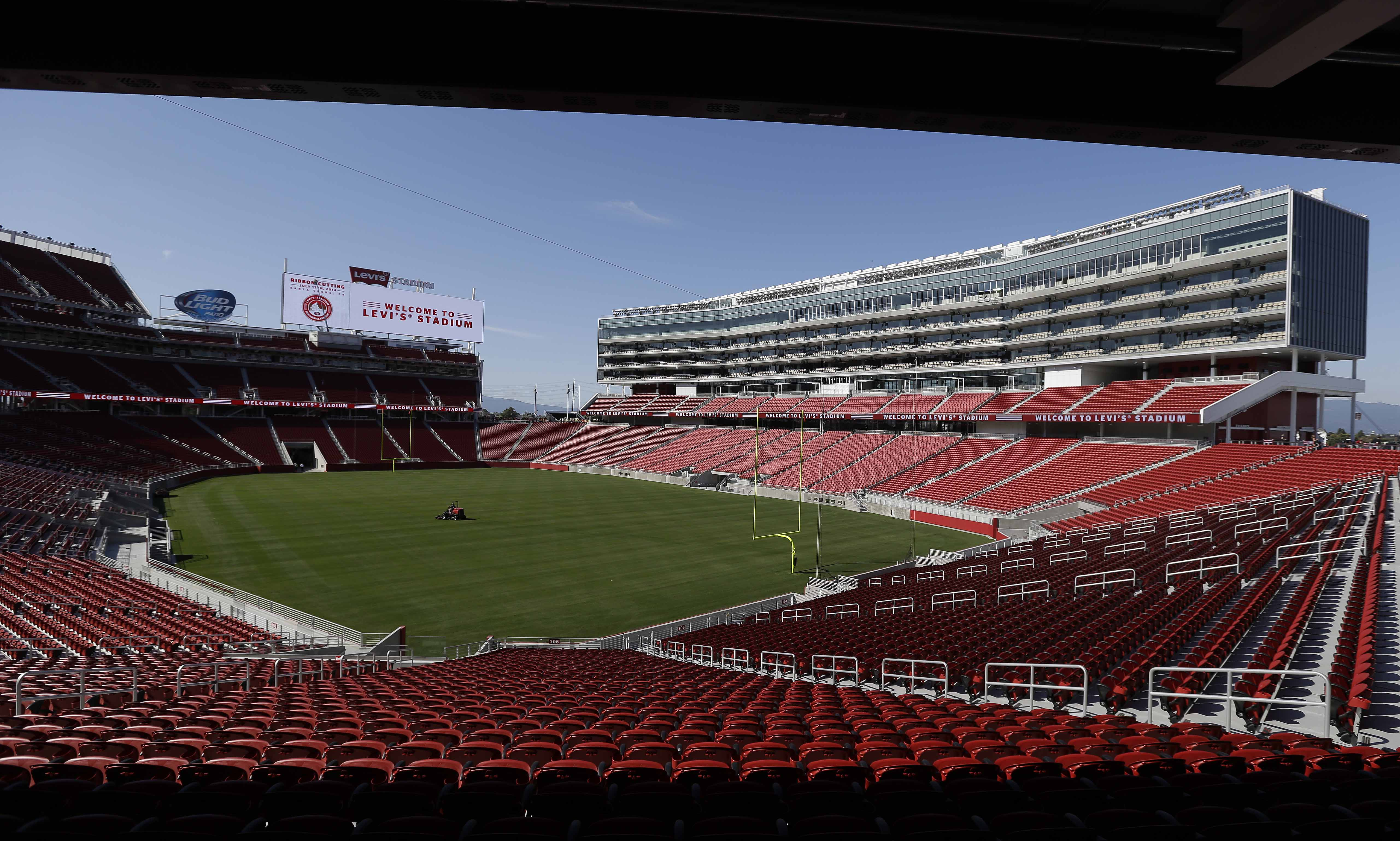 Report: 49ers to bid to host College Football Playoff title game