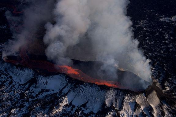 Iceland's Largest Eruption Ends…Maybe