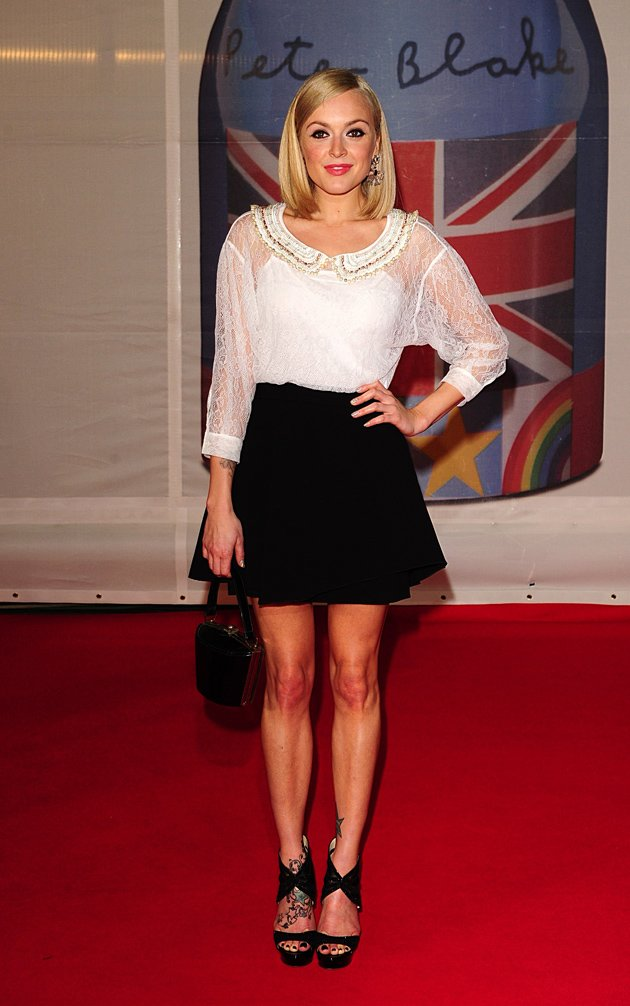 BRITs 2012: Fearne Cotton