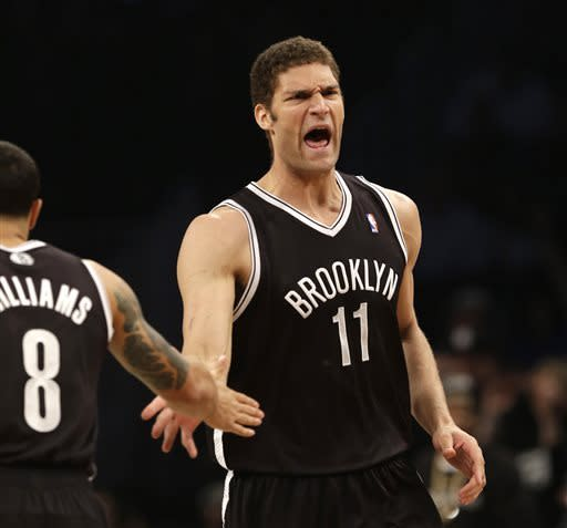 Nets crush Bulls in first playoff game in Brooklyn