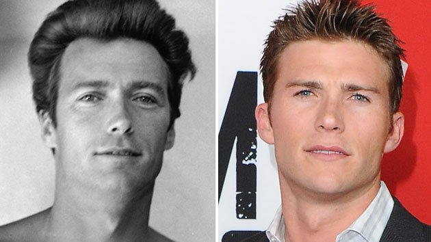Scott eastwood right and his famous dad clint eastwood photo getty