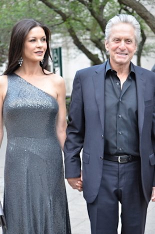 Catherine-Zeta Jones and Michael Douglas