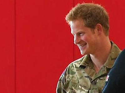Raw: Prince Harry in Colo. for Wounded Vet Games