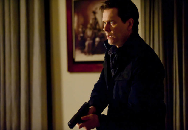 "Ryan Hardy (Kevin Bacon) goes after Joe Carroll's followers in the ""Guilt"" episode of ""The Following."""