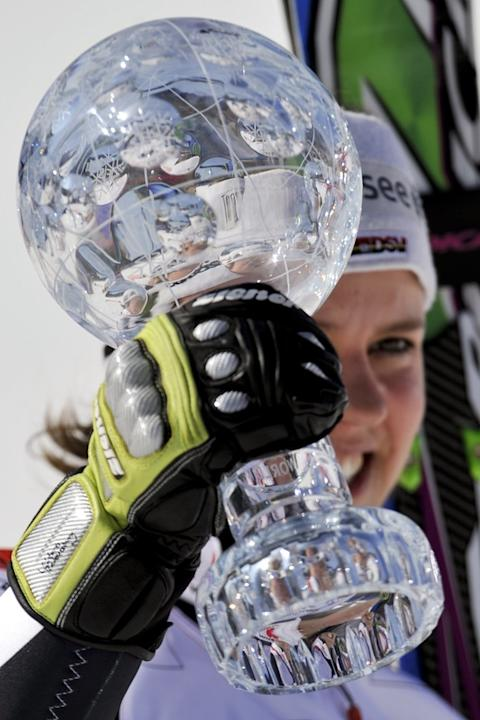 Germany's Viktoria Rebensburg Holds AFP/Getty Images