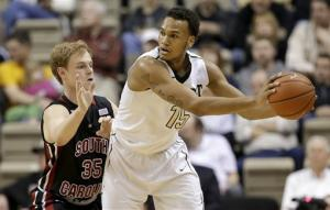 Vanderbilt beats South Carolina 74-64