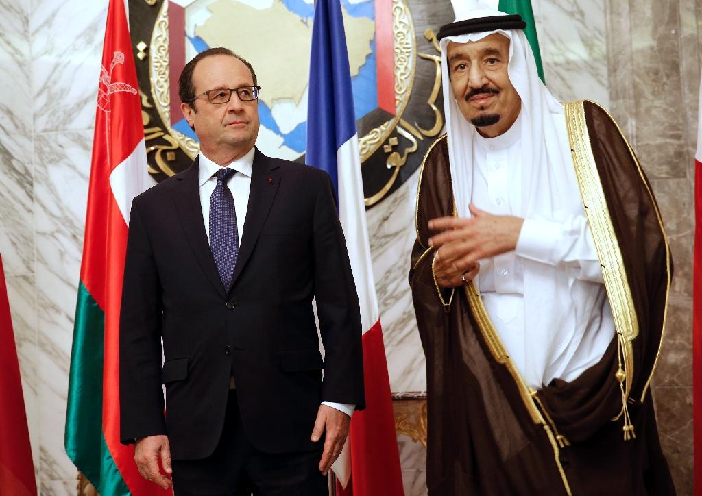 French courtship of Gulf monarchies is risky: experts