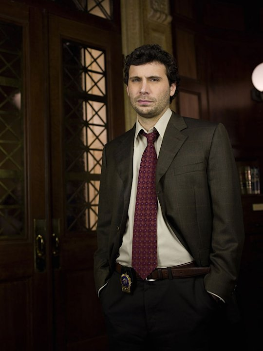 Jeremy Sisto as Cyrus Lupo on &quot;Law &amp; Order.&quot; 
