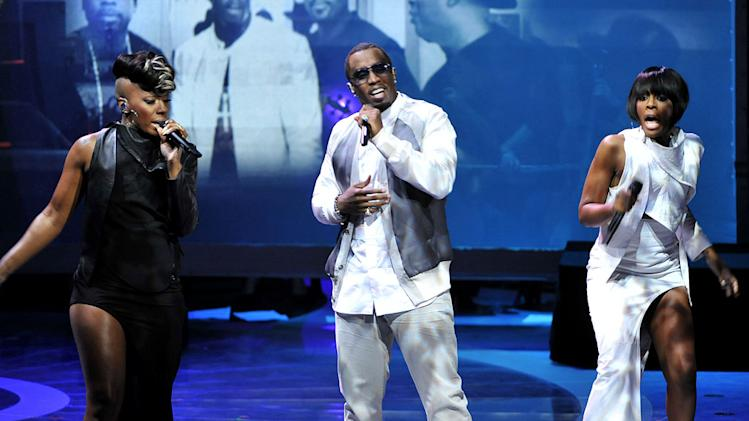 "Diddy-Dirty Money featuring Skylar Grey took the stage to perform ""Coming Home"" on ""American Idol."""